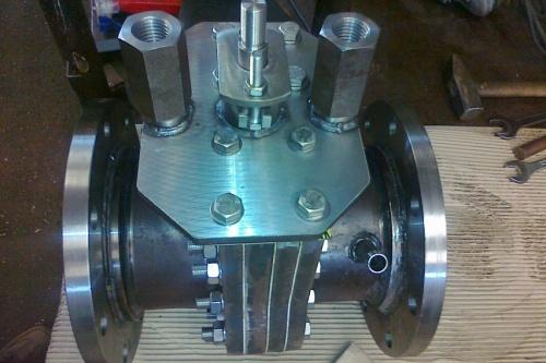 Odtředivka SVS Řídící šoupátko VAP 130 II